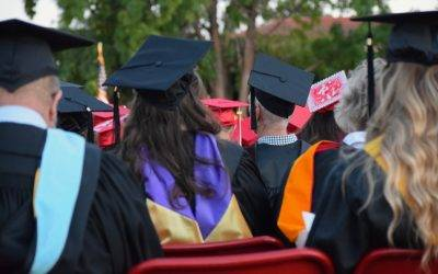 """Graduates clear tables and ask: """"was my degree worth it?'"""