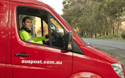 Australia Post casual delivery drivers